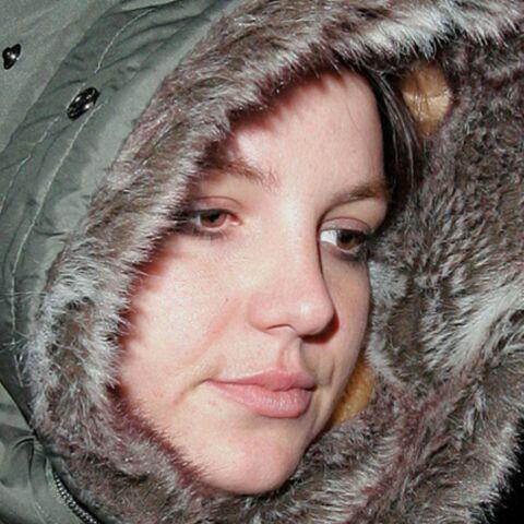 Britney Spears: les charentaises, très peu pour elle!