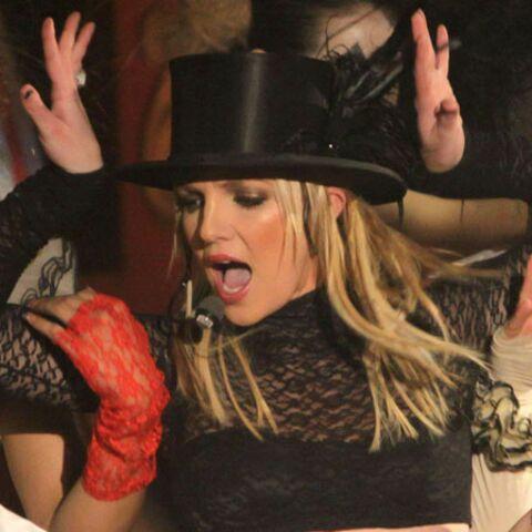 Britney Spears sur le tournage de Glee