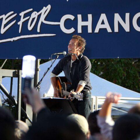 Bruce Springsteen enflamme le meeting d'Obama