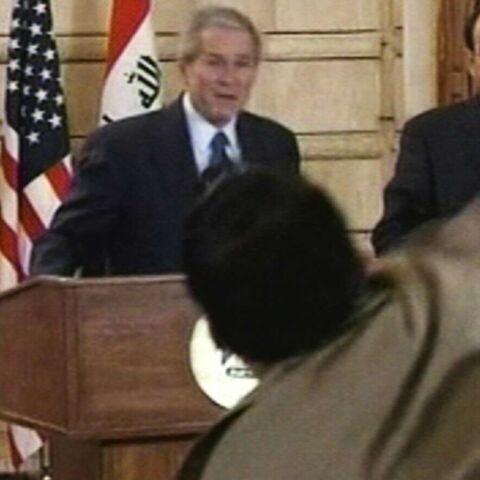 Bush: le lanceur de chaussure demande asile à la Suisse