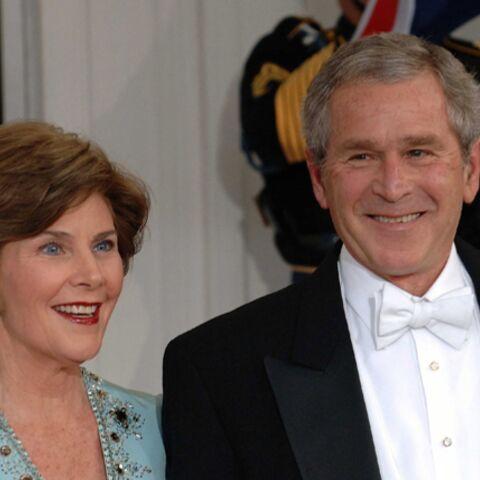 Laura et George W. Bush