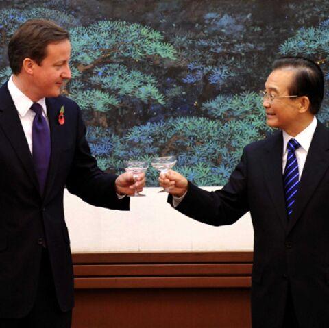David Cameron, la fleur au fusil