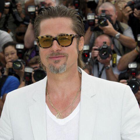 Fashion Croisette: Brad Pitt en total look blanc