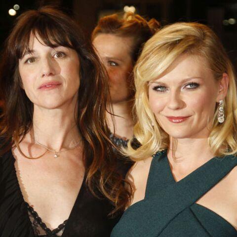 Tapis rouge pour Kirsten Dunst et Charlotte Gainsbourg