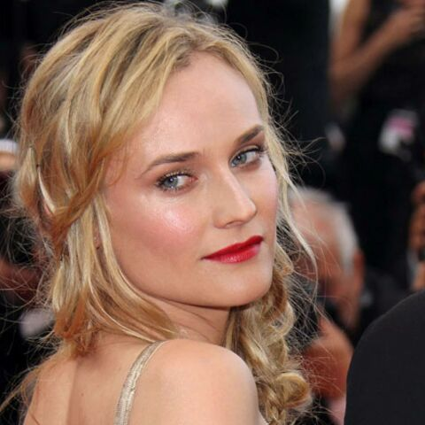 Focus- La coiffure red carpet de Diane Kruger