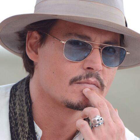 Focus- L'ultra-look de Johnny Depp à Cannes