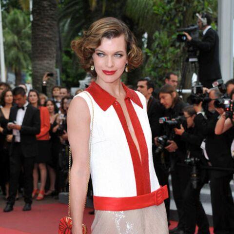 Milla Jovovich, Eva Herzigova, Florence Pernel: les stars à l'assaut du Palais des Festivals