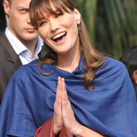 Carla Bruni-Sarkozy voudrait son ventre Bombay