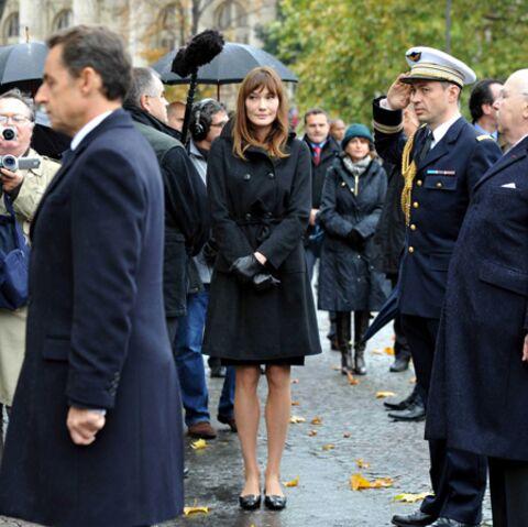 Carla Bruni-Sarkozy aime sa Douce France, à l'italienne