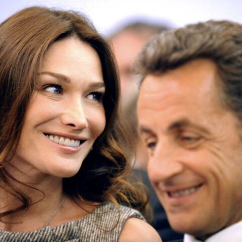 Carla Bruni-Sarkozy aimerait parler de sa grossesse, mais…