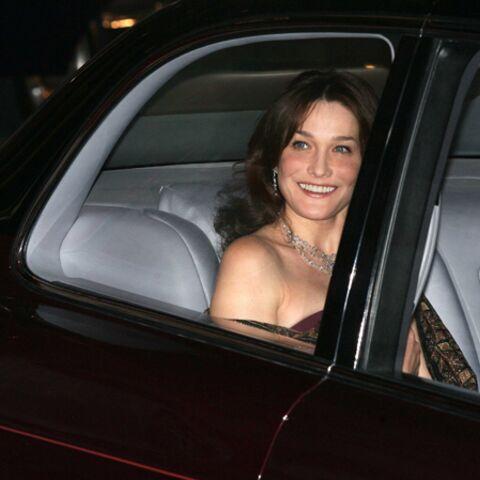 Carla Bruni-Sarkozy, en voiture vers la maternité?