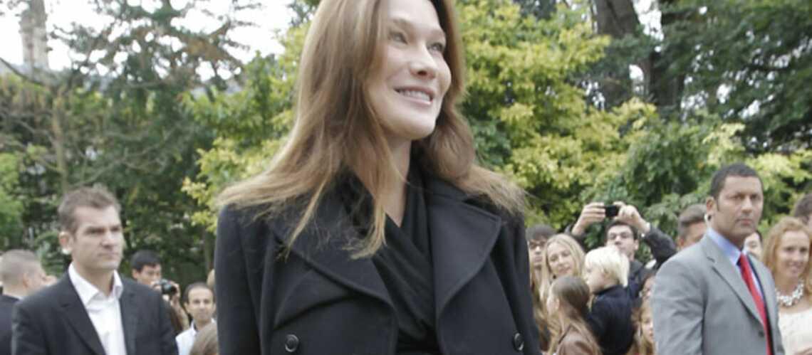 Carla Bruni-Sarkozy: un accouchement sous haute surveillance