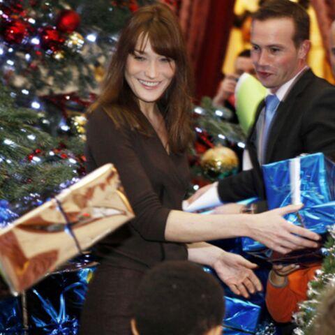 Carla B., mère Noël à l'Elysée