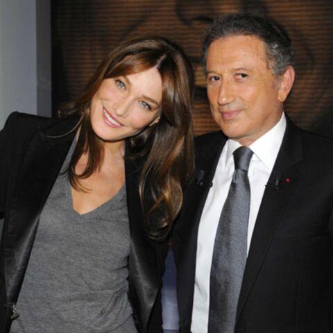 Chez Drucker, Carla Bruni fait moins bien que Bernadette Chirac