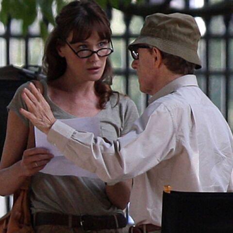 Carla Bruni-Sarkozy, rabrouée par Woody Allen?