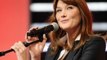New York attend la chanteuse Carla Bruni-Sarkozy
