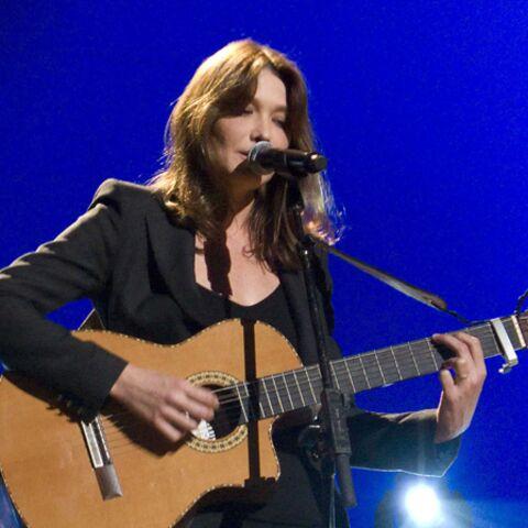 Carla Bruni, M Pokora, veulent plus de chanson française à la radio
