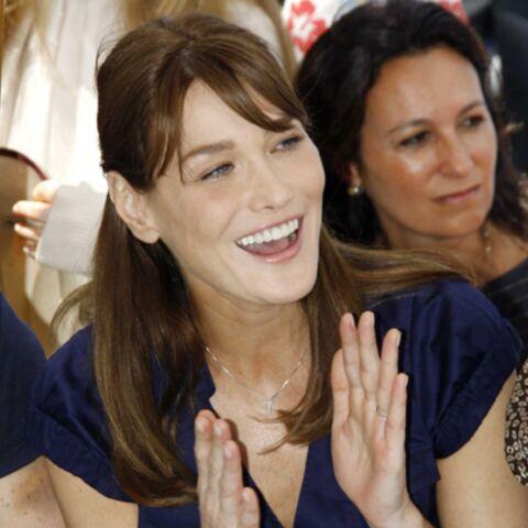 Carla Bruni-Sarkozy enchante le Brésil