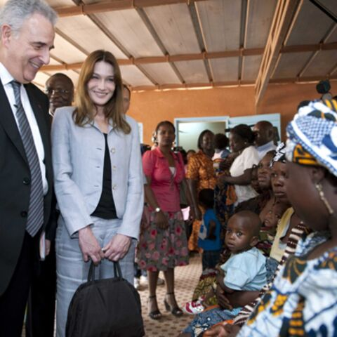 Burkina Faso: l'album photo de Carla Bruni-Sarkozy