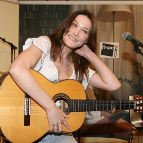 Carla Bruni: «Je fais un trait sur ma carrière…»
