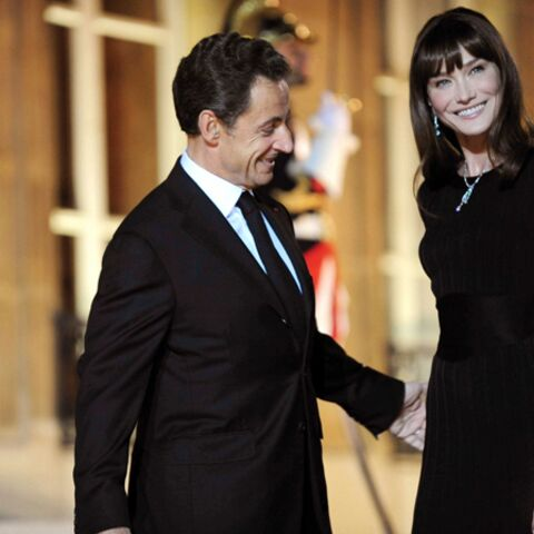Carla Bruni-Sarkozy: il est né le divin santon