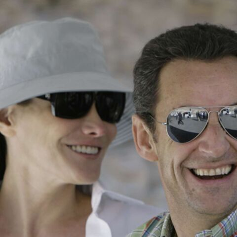 Carla Bruni a rejoint Nicolas Sarkozy à Pétra