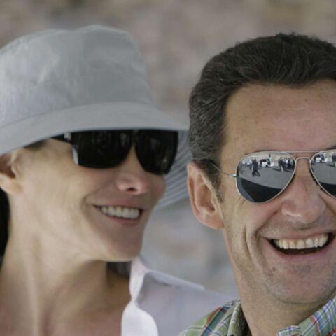Nicolas Sarkozy et Carla Bruni en Egypte