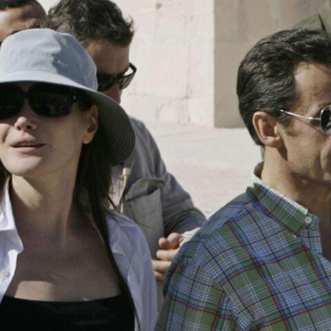 Nicolas Sarkozy et Carla Bruni au bord de la mer Rouge