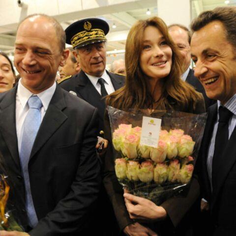 Carla Bruni-Sarkozy cultive son jardin secret