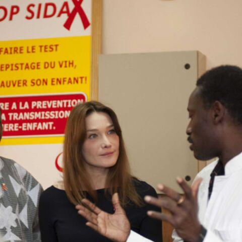 Sida: Carla Bruni-Sarkozy se fâche contre l'Italie