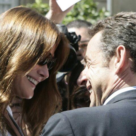 Bientôt les vacances pour Carla et Nicolas Sarkozy