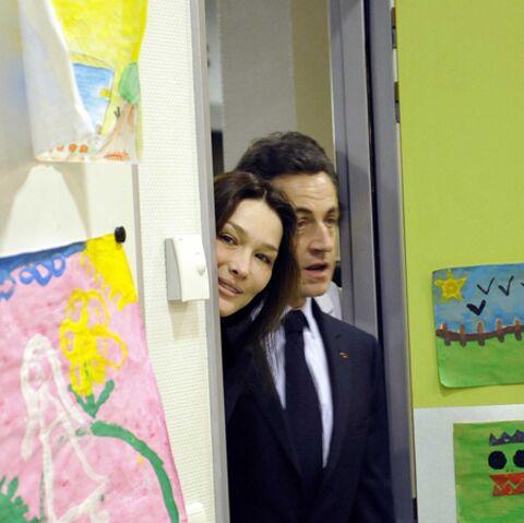 Carla et Nicolas Sarkozy: les (gentils) visiteurs