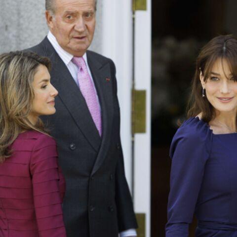 Carla Bruni-Sarkozy: les Espagnols sont conquis, ils adorent
