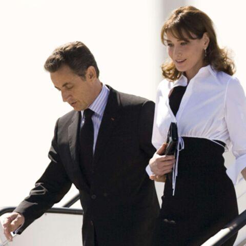 Carla Bruni-Sarkozy, son boléro et son mari ravi