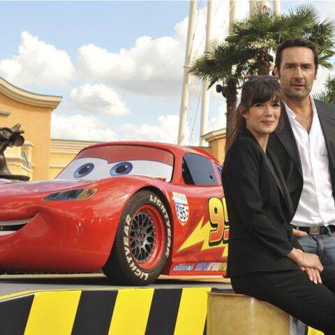 Photos- Melanie Doutey et Gilles Lellouche à fond la Cars!