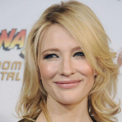 Cate Blanchett accro aux bébés