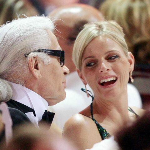 Karl Lagerfeld fait de Charlène Wittstock une princesse