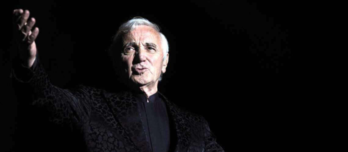 Charles Aznavour se lance dans le Slam