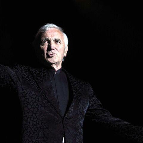 Charles Aznavour a son étoile sur Everan boulevard