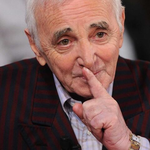 Charles Aznavour en pleine forme à Los Angeles