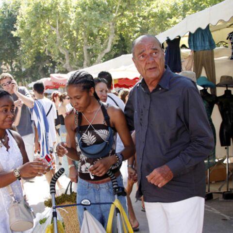 Jacques Chirac à St Tropez