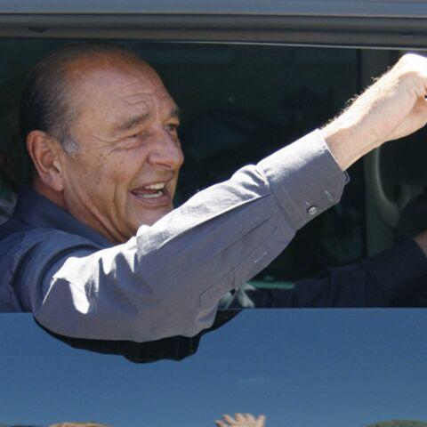 Chirac débarque chez les Sarkozy