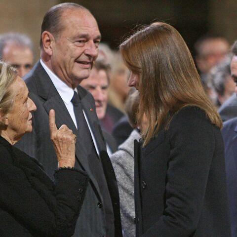 Carla Bruni-Sarkozy: ses confidences à Bernadette Chirac