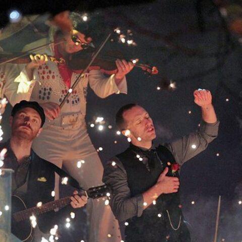 Coldplay allume ses lumières de Noël