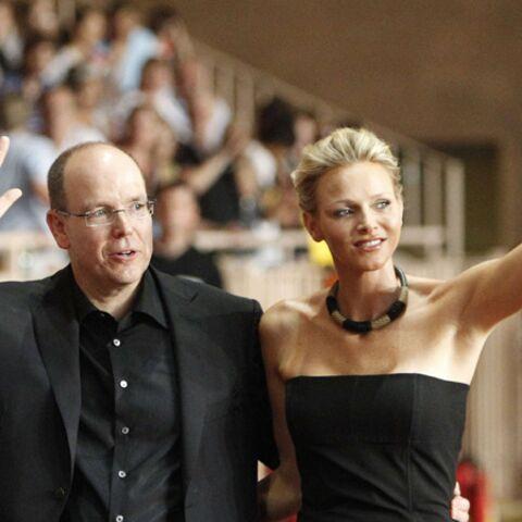 Photos-Albert II et Charlène assistent à un concert grandiose des Eagles