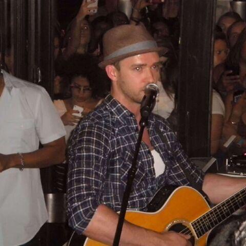 Justin Timberlake, concert surprise à New York