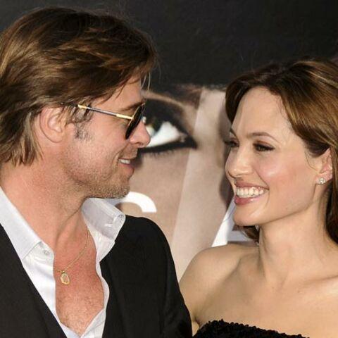 Brad Pitt et Angelina Jolie, voisins en or