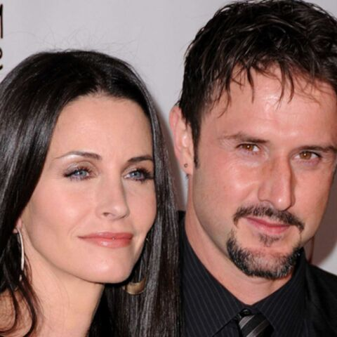Courteney Cox avec David à la conquête d'Hollywood