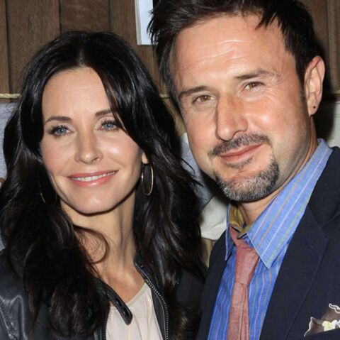 Courteney Cox et David Arquette, inséparables
