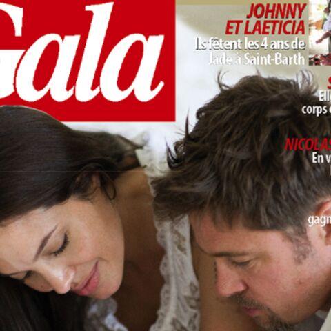 Gala publie les premières photos des jumeaux d'Angelina Jolie et Brad Pitt